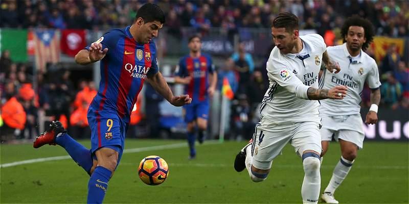 Con empate 1-1 entre Barcelona y Real Madrid, finalizó clásico español