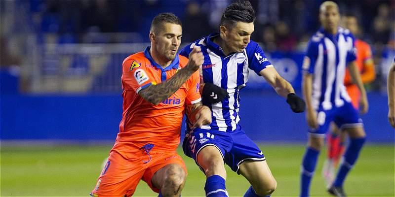 85 minutos de Daniel Torres en el Deportivo Alavés 1 -Las Palmas 1