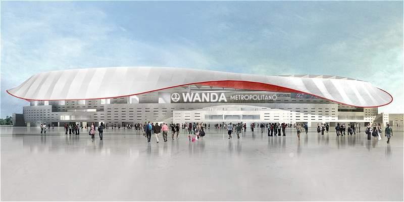 El nuevo estadio de Atlético ya tiene nombre: Wanda Metropolitano