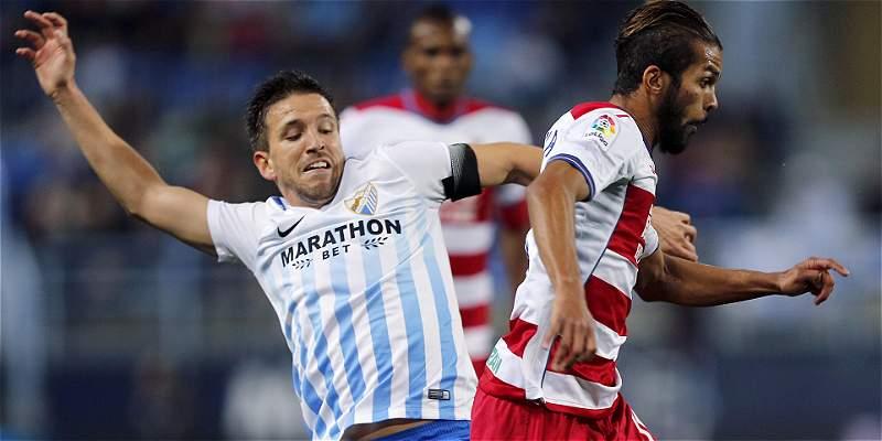 Granada frenó racha de victorias del Málaga: empataron 1-1, por Liga