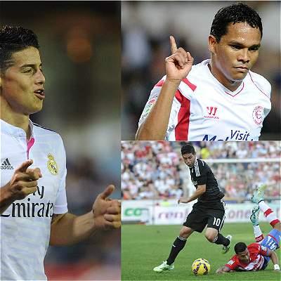 James contra Colombianos
