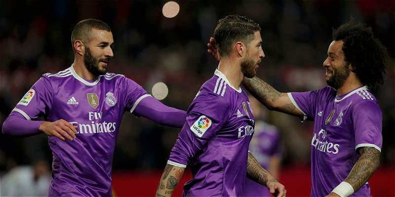 Madrid logró el pase a cuartos de Copa del Rey: empató 3-3 con Sevilla
