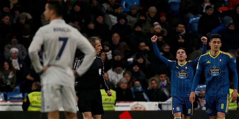 Sorpresa en la Copa del Rey: Celta de Vigo venció 1-2 al Real Madrid
