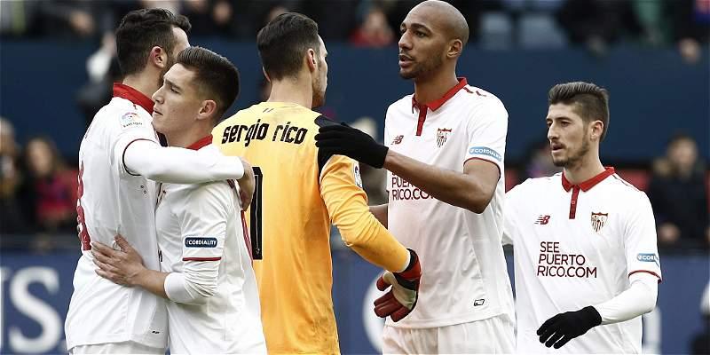 Sevilla sigue con su buen ritmo en España y se impuso 3-4 al Osasuna