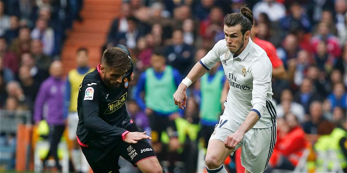 Bale regresó con gol en el triunfo de Real Madrid 2-0 sobre Espanyol