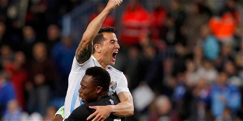 Málaga rompió racha de 9 partidos sin ganar: venció 2-1 a Las Palmas