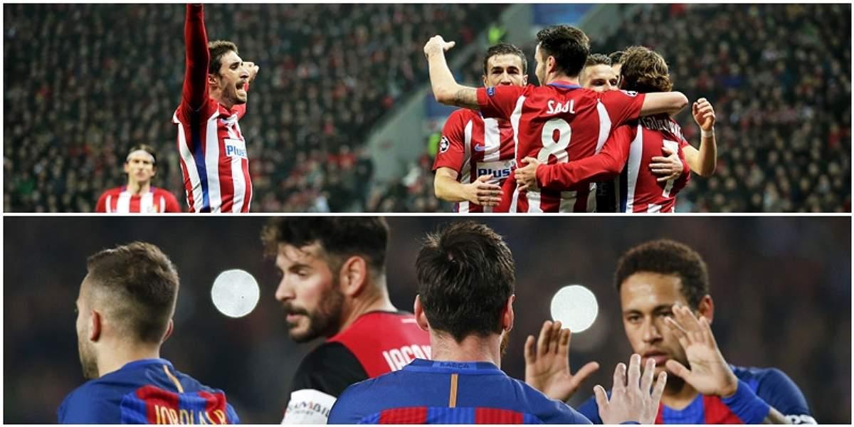 Atlético vs. Barcelona destaca en la fecha 24 de la Liga de España