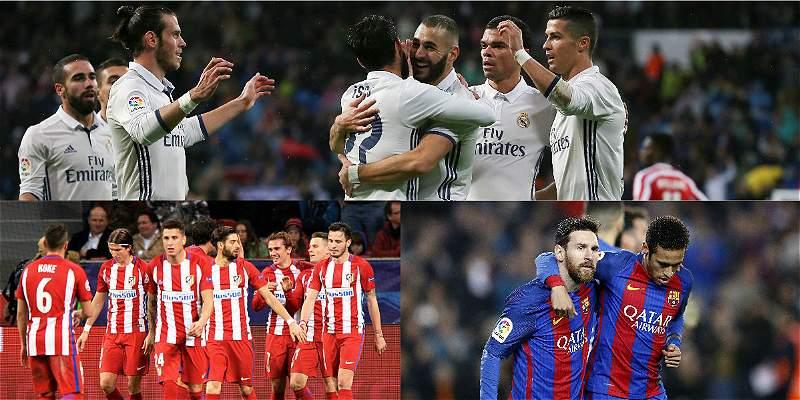 ¿Qué se define en la jornada de domingo en la Liga de España?