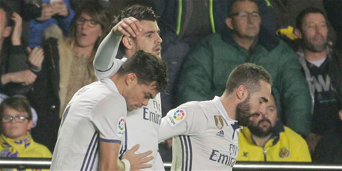 En una gran remontada, Real Madrid venció 2-3 a Villarreal y es líder