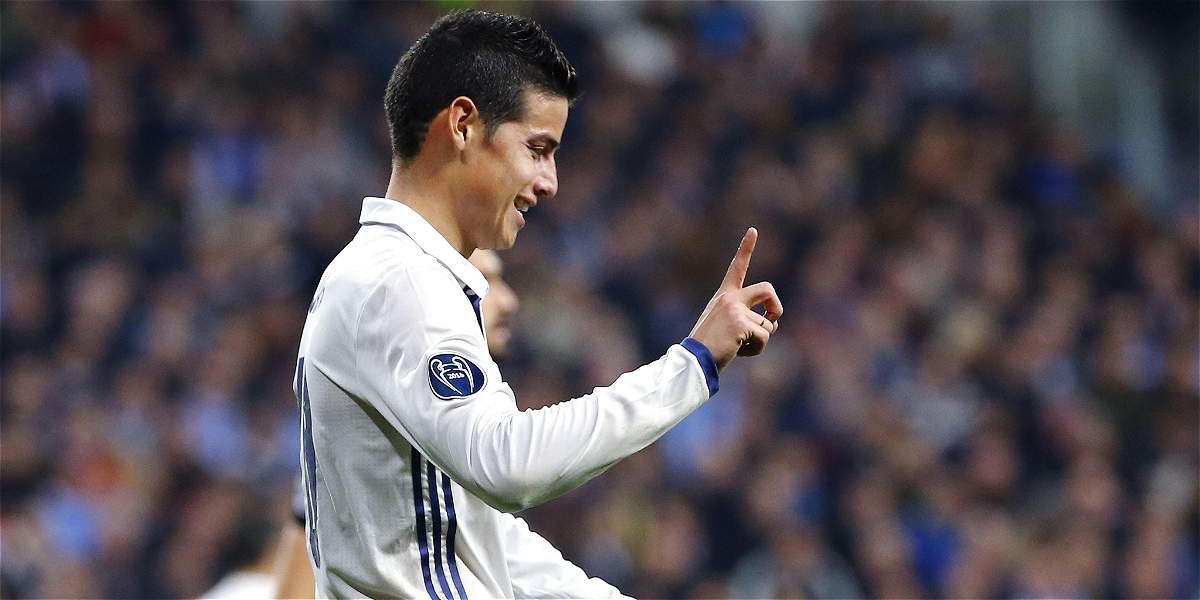 Ni por 60 millones de euros Real Madrid dejaría ir a James Rodríguez