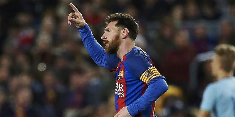 Messi, el extranjero con más partidos en la historia de Liga de España