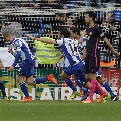 Barcelona 'aterrizó' en Riazor: perdió 2-1 con Deportivo La Coruña