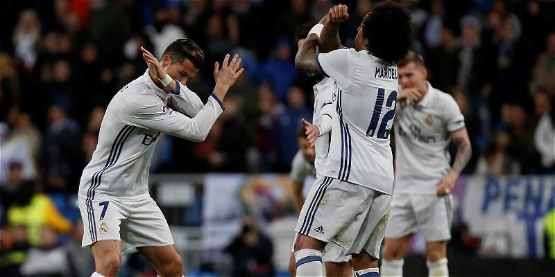 Cristiano Ronaldo abrió el camino del triunfo para Real Madrid