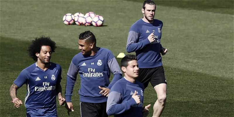 James, Real Madrid