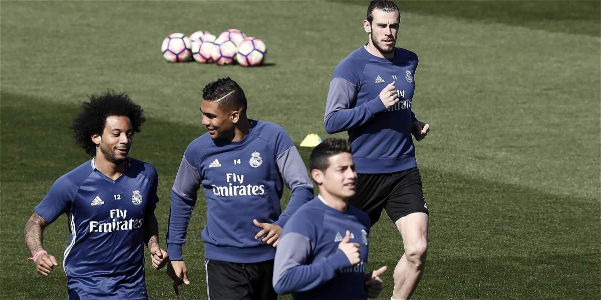 James, en lista de convocados del Real Madrid para visitar al Athletic