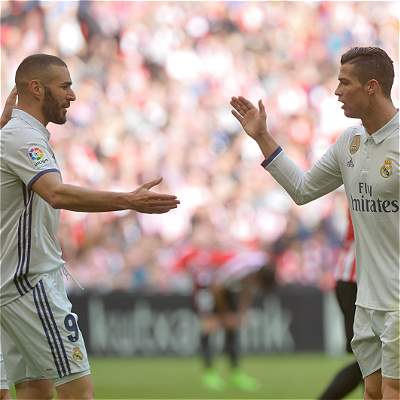 Real Madrid se impuso 1-2 frente a un aguerrido Athletic Bilbao