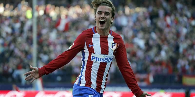 Antoine Griezmann comandó el triunfo del Atlético