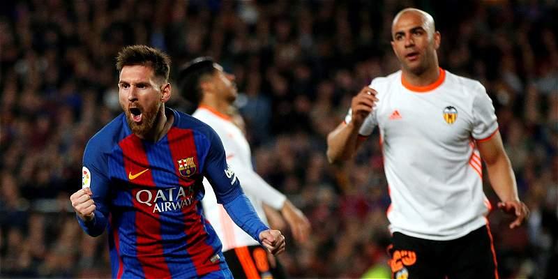 Barcelona Valencia Liga de España