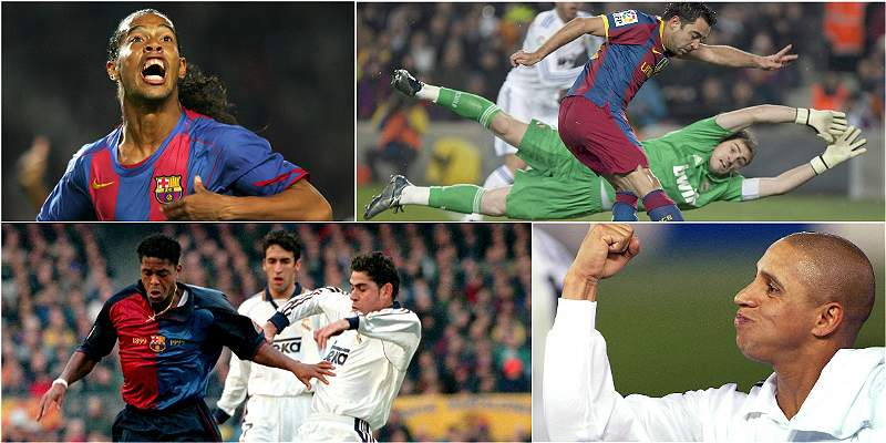 Real Madrid vs Barcelona goles