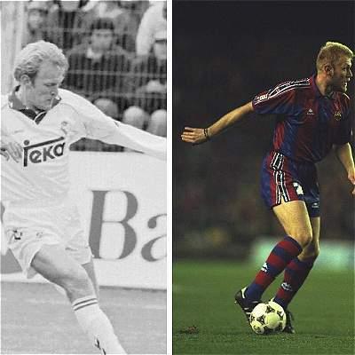 En fotos: jugadores que vistieron ambas camisetas del clásico español