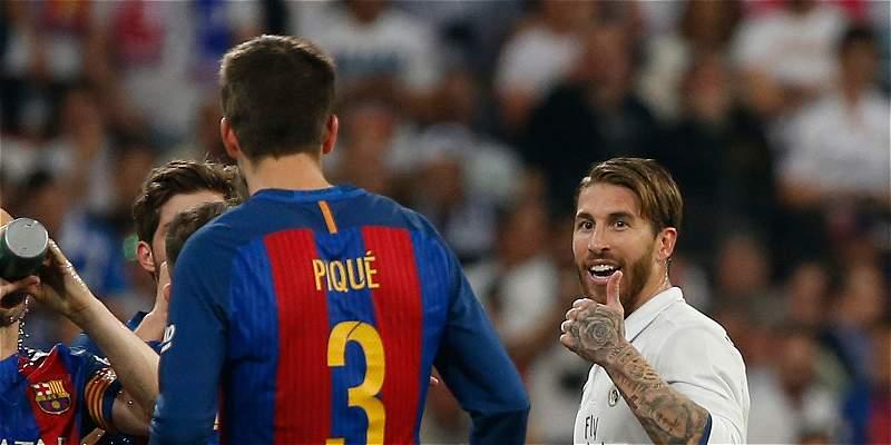 \'A Piqué le gusta opinar de los árbitros y de las polémicas\': Ramos