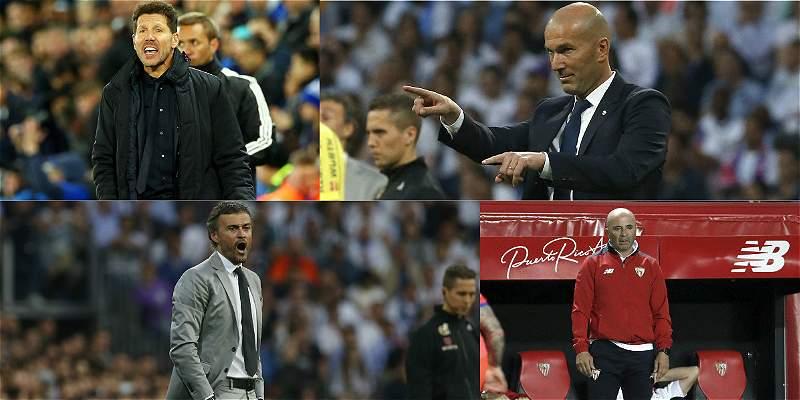 La Liga de España prepara un 'sprint final' que está al rojo vivo