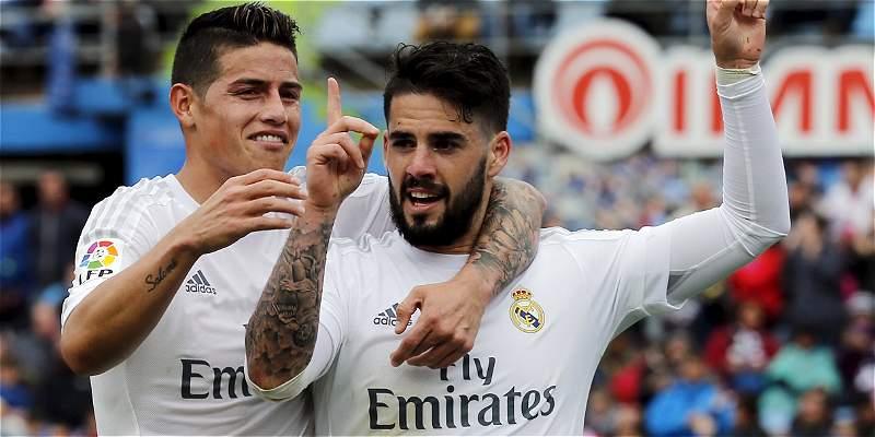 Continuidad de James en Real Madrid, en riesgo por renovación de Isco