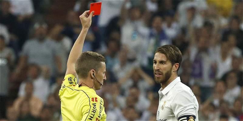 Ramos recibió una fecha de sanción por falta a Messi en el clásico