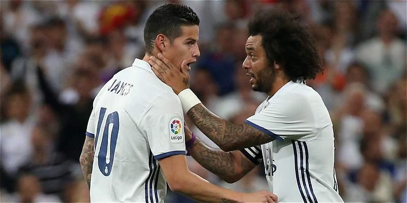 James es titular con Real Madrid para visitar al Deportivo La Coruña