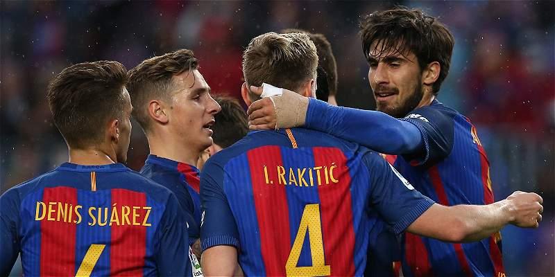 Fiesta en Barcelona: goleada 7-1 sobre Osasuna y sigue líder en España