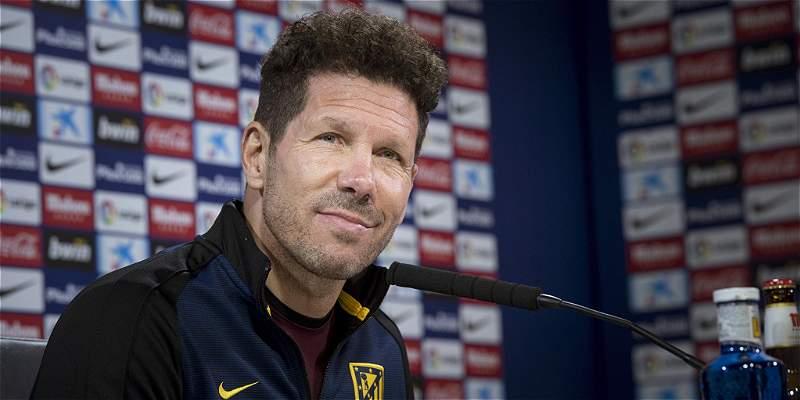 Diego Simeone reconoció que estaba 'preocupado' por su posible sanción