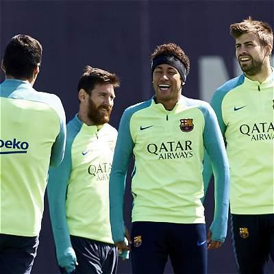 Barcelona confía en seguir líder en España en derbi contra Espanyol