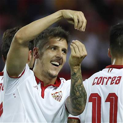 Sevilla cerró con goleada la Liga de España: 5-0 sobre Osasuna