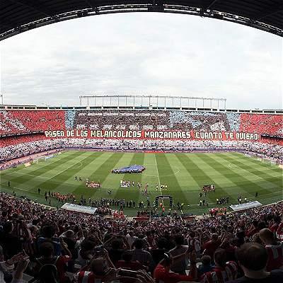 Atlético de Madrid despidió con triunfo al estadio Vicente Calderón