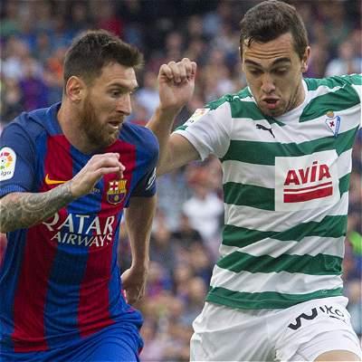 Frustrante victoria de Barcelona:4-2 sobre Éibar y subtítulo en España