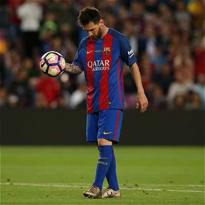Un consuelo para Messi: terminó como goleador de la Liga de España
