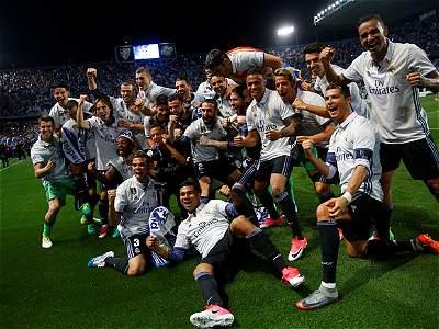 Málaga vs. Real Madrid/GALERÍA
