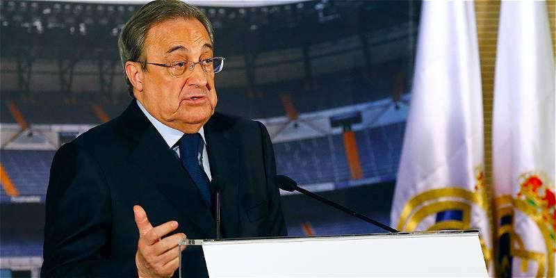 \'James es del Madrid, no se van cuando ellos quieren\':Florentino Pérez