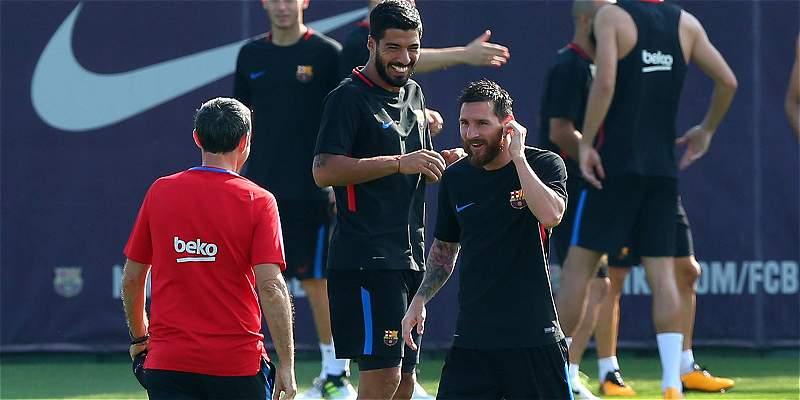Barcelona, a órdenes de Valverde