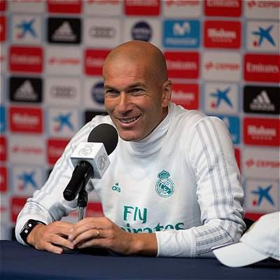 'A James le deseo la mayor de las suertes en Bayern': Zinedine Zidane