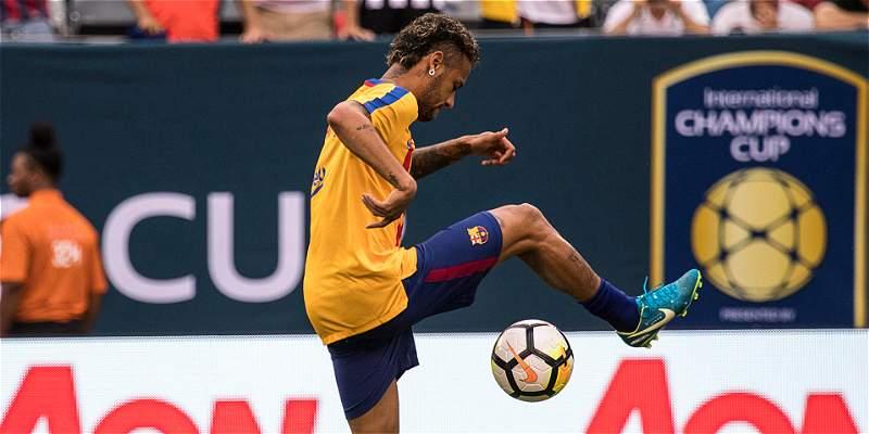 Neymar, en vilo