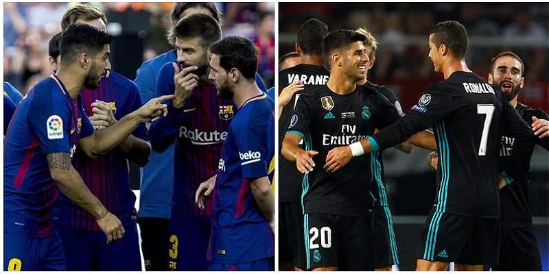 Barcelona y Real Madrid