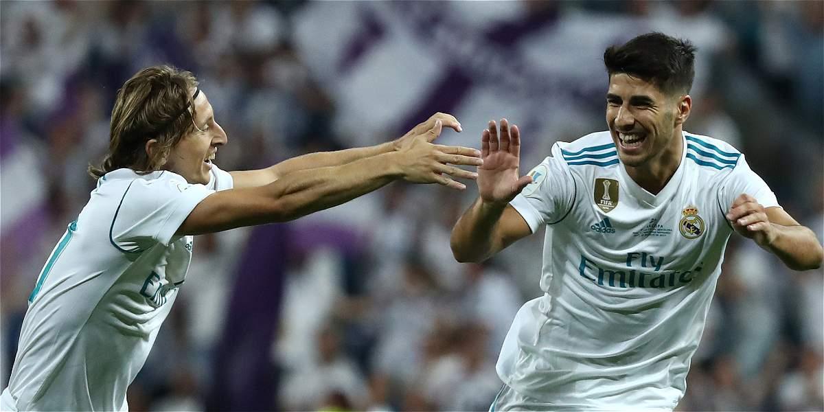 Real Madrid venció 2-0 a Barcelona y salió campeón de la Supercopa