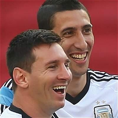 Messi y Di María