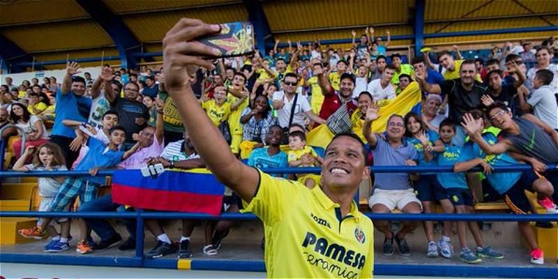 \'Llego a Villarreal con la idea de mejorar mis cifras\': Carlos Bacca