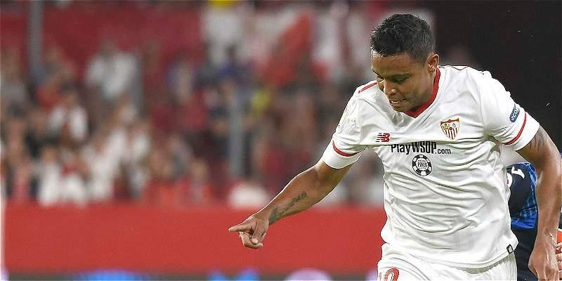 Luis F. Muriel no fue convocado por Sevilla para duelo contra Éibar