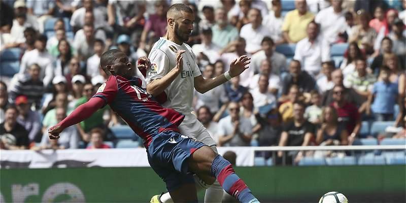 El Madrid no pudo con el Levante de Lerma e igualó 1-1 en el Bernabéu