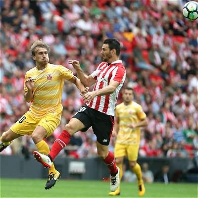 Con Espinosa y Mojica en cancha, Girona cayó 2-0 con Athletic Bilbao