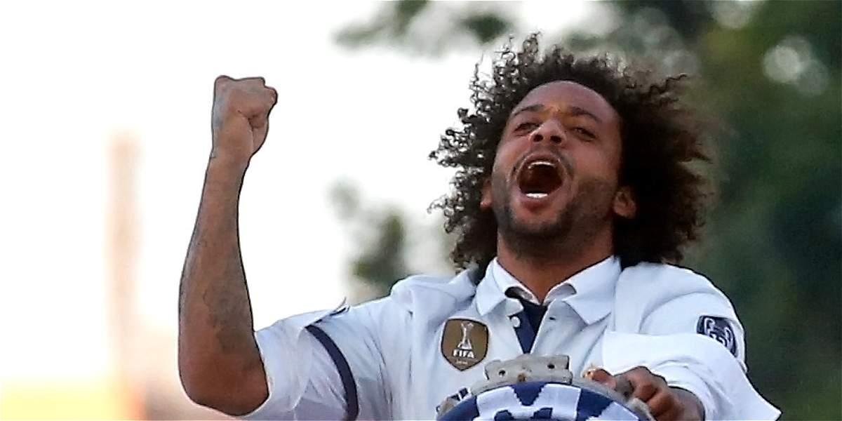 Marcelo renovó su vinculación con el Real Madrid hasta el 2022