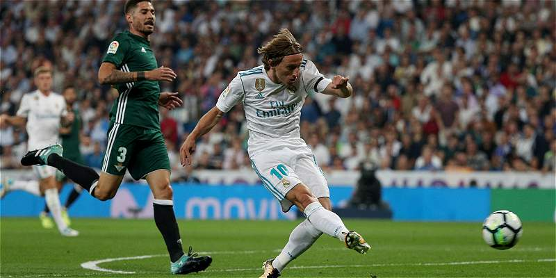 Real madrid igualó con Betis